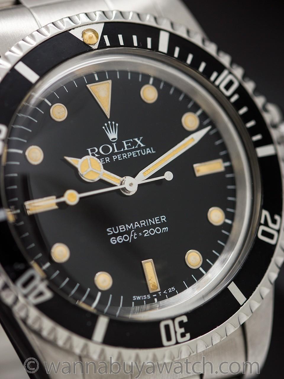 Rolex Submariner ref 5513 circa 1988 Amazing Lume!