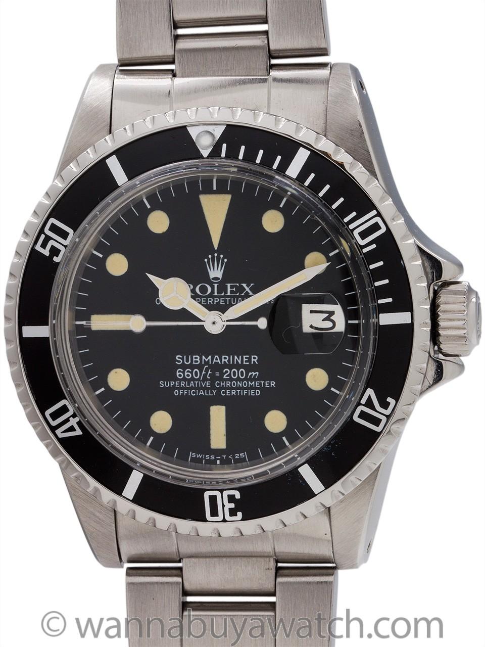Rolex Date Submariner ref# 1680 circa 1977