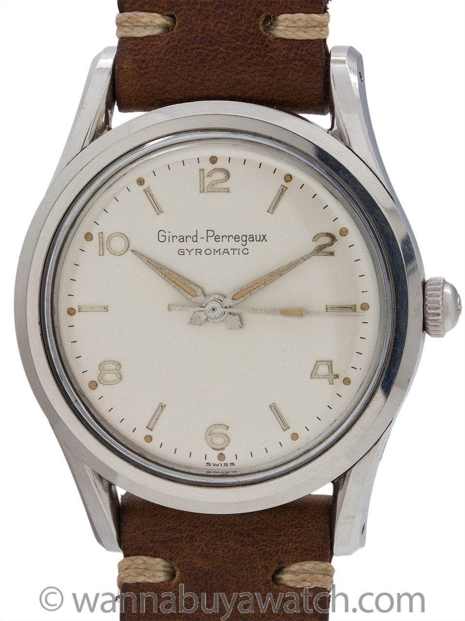 "Girard Perregaux Bombe ""Gyromatic"" circa 1950's"