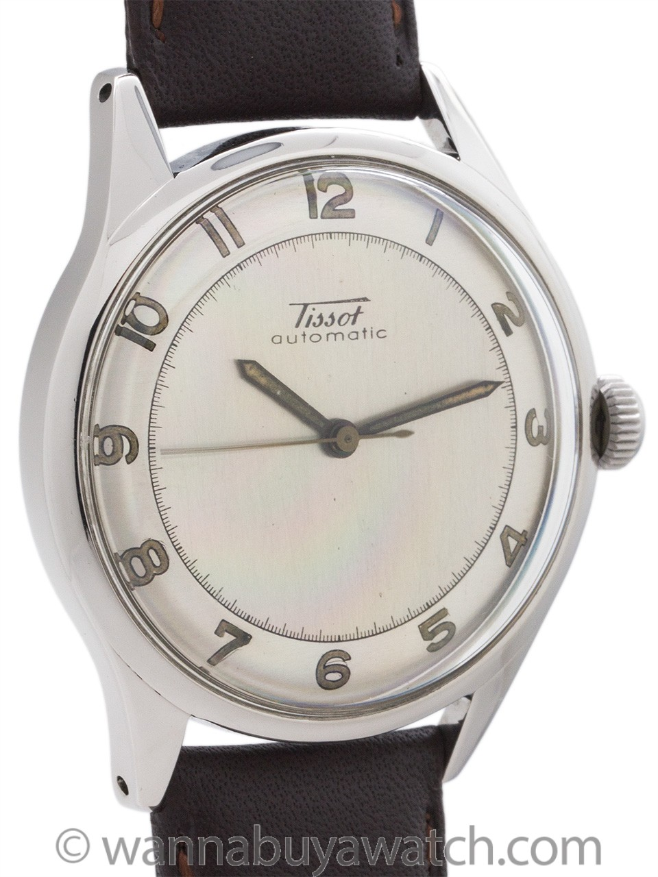 Tissot Automatic Stainless Steel circa 1950's