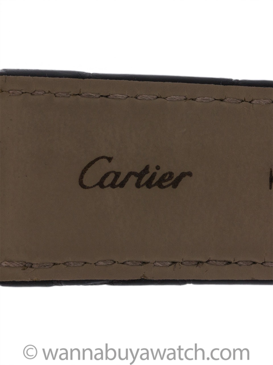 Cartier Man's Tank Anglaise 18K YG ref 3509 circa 2015