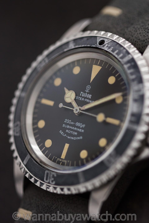 Tudor ref 7928 Submariner Gilt Flower Logo Dial circa 1966