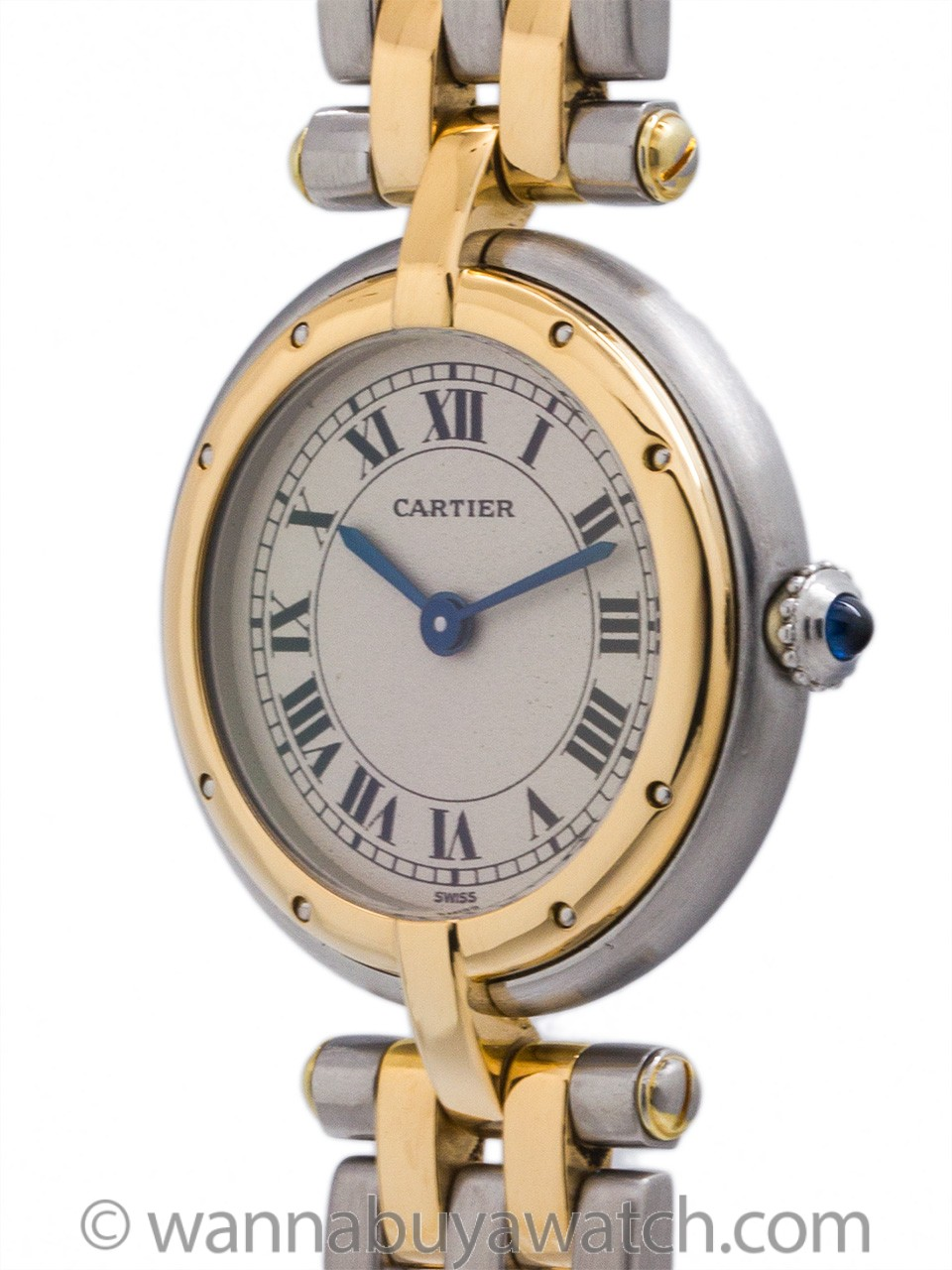 Cartier Lady's Vendome Panther SS/18K YG circa 2000's
