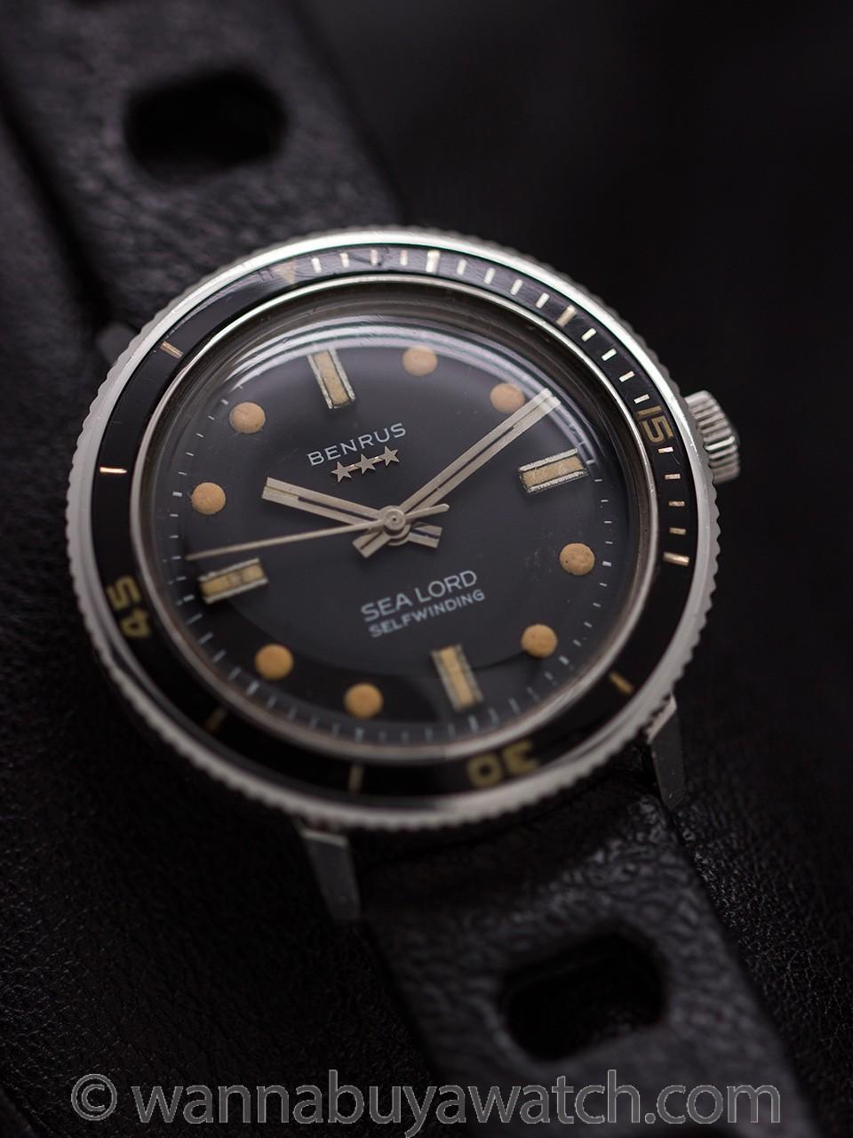 Benrus Sea Lord Diver's circa 1960's