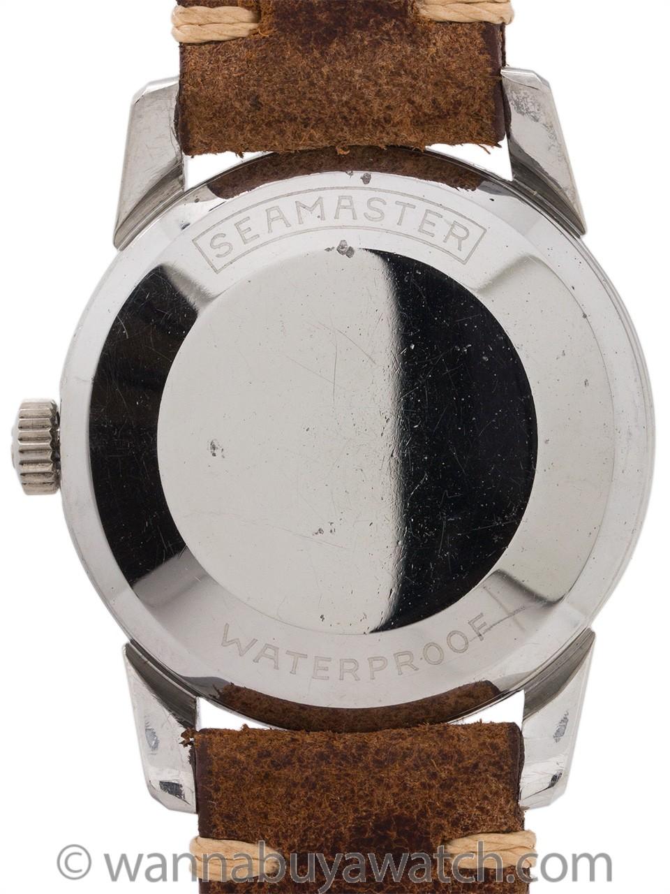 Omega Seamaster ref# 2848 circa 1956