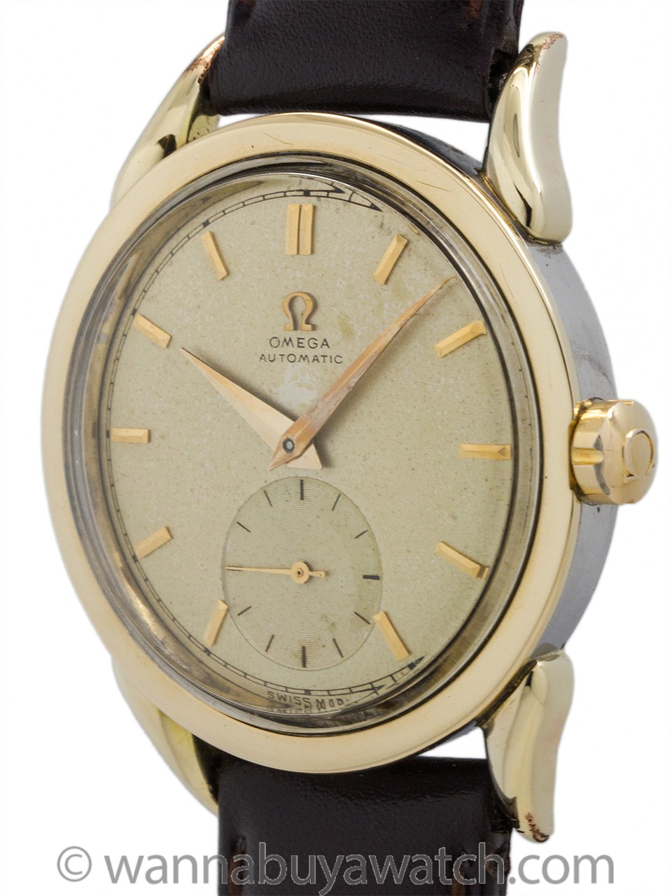 Omega Automatic Gold Shell circa 1950