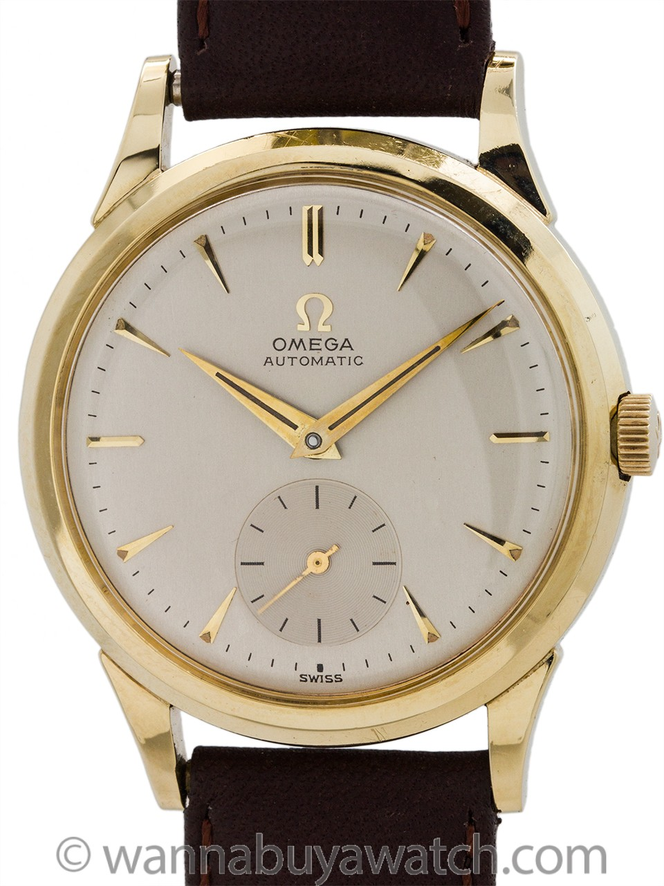 Omega Automatic Gold Shell circa 1954