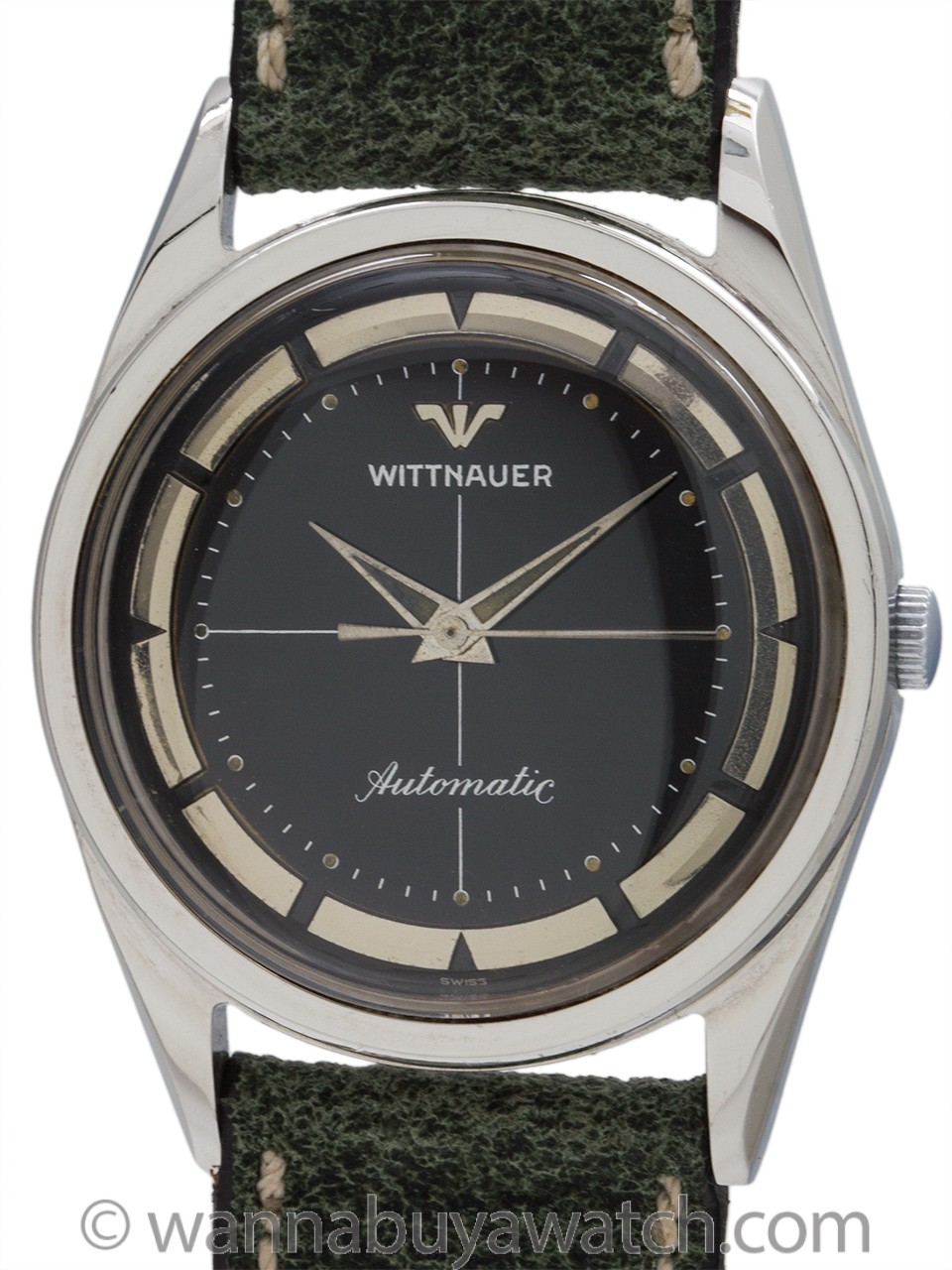 Wittnauer Stainless Steel Automatic circa 1960's
