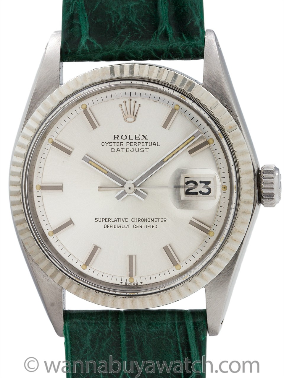 "Rolex Datejust ref 1601 ""Fat Boy"" circa 1970"