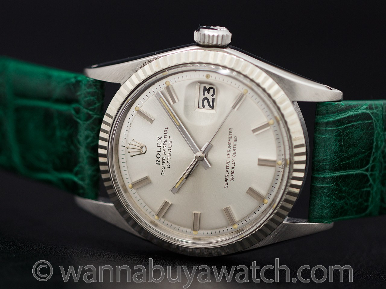 "Rolex Datejust ref 1601 ""Fat Boy"" circa 1970"