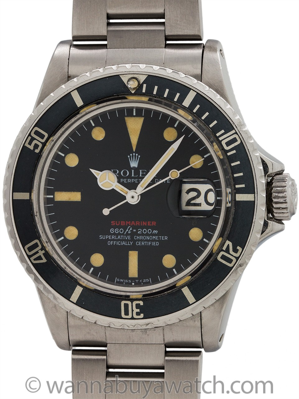 Rolex Red Submariner ref# 1680 circa 1974