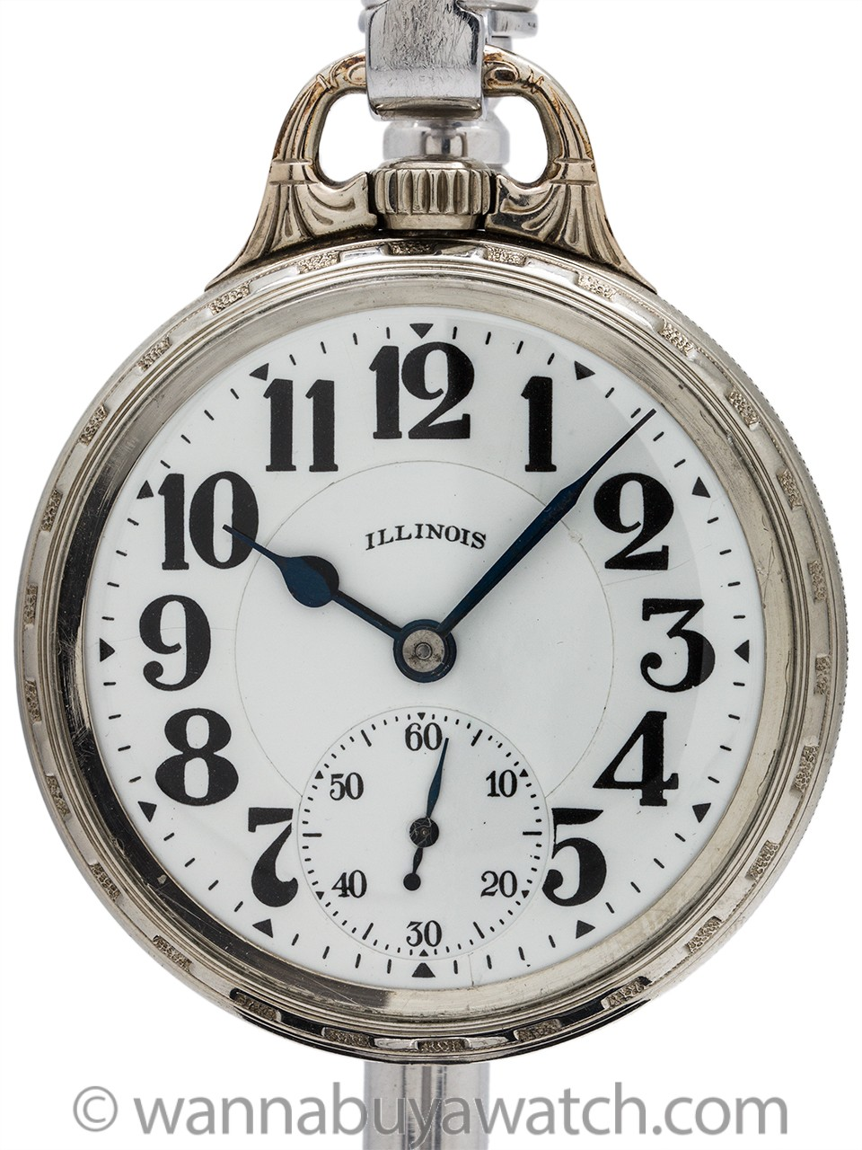 Illinois Bunn Special 21 Jewel 60 Hour Railroad Watch circa 1920's