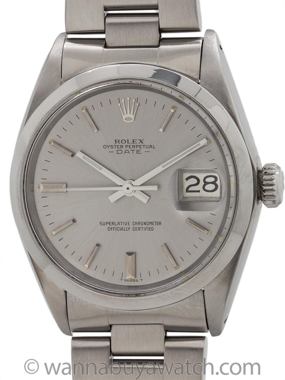 Rolex ref 1500 Oyster Perpetual Date circa 1969