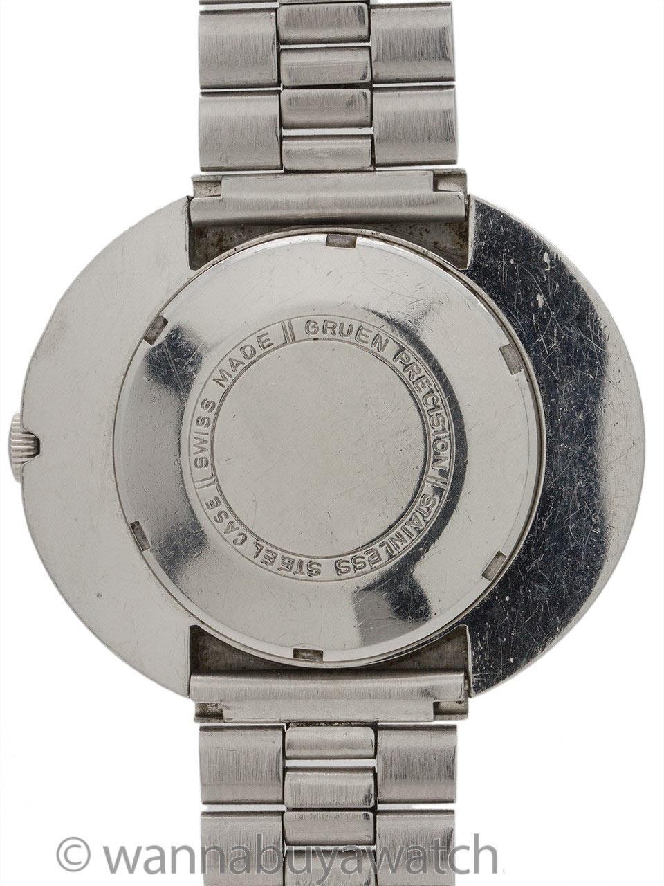 "Gruen Precision Automatic ""Moderne"" circa 1970's NOS"