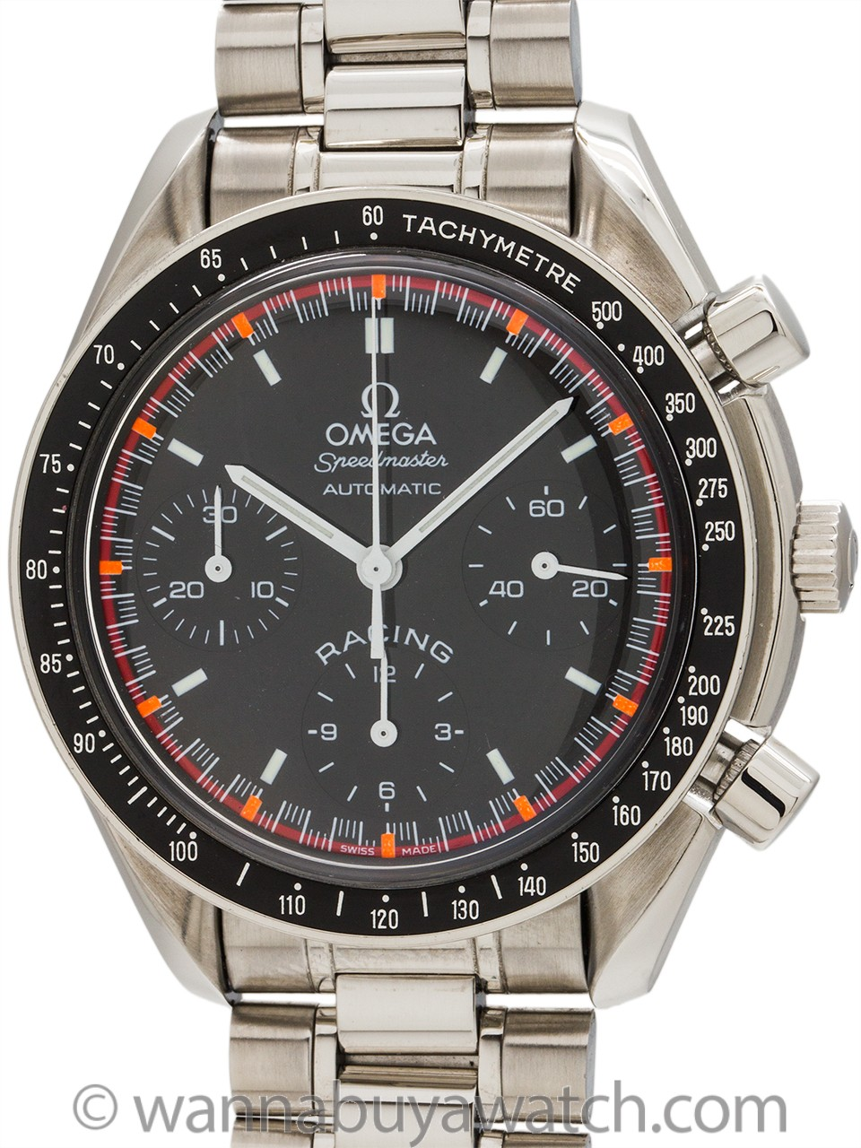 Omega Speedmaster Automatic Racing ref 3518.50 Michael Schumacher circa 2000
