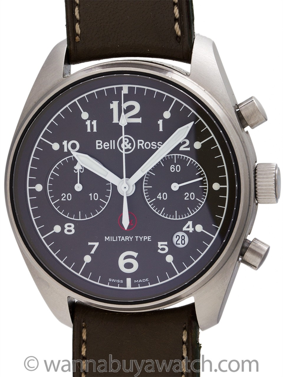 Bell & Ross 126 MS Military Type Limited Edition 477/999