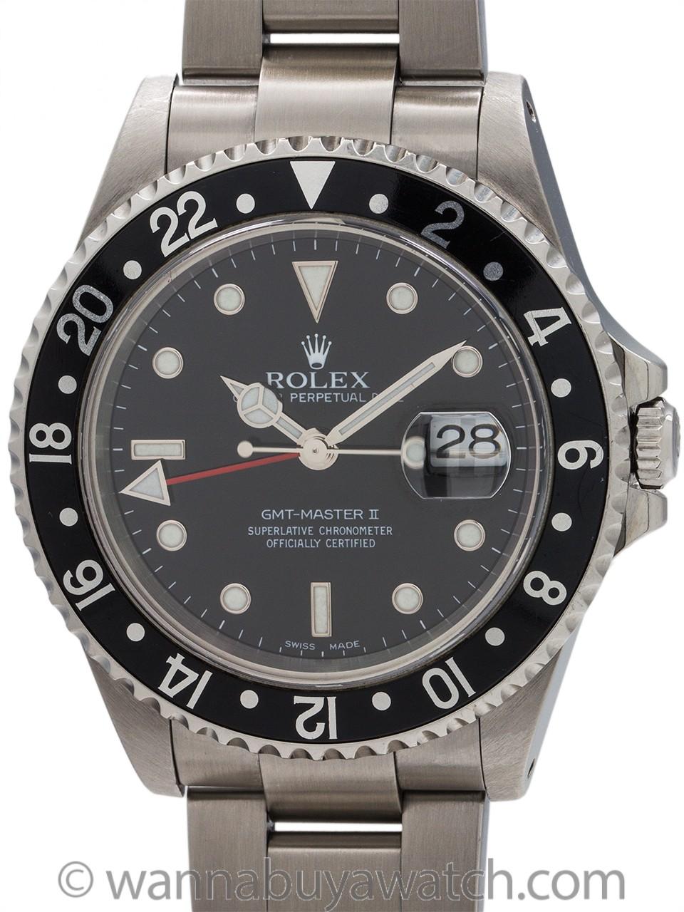 Rolex GMT II ref 16710 Stainless Steel circa 2000