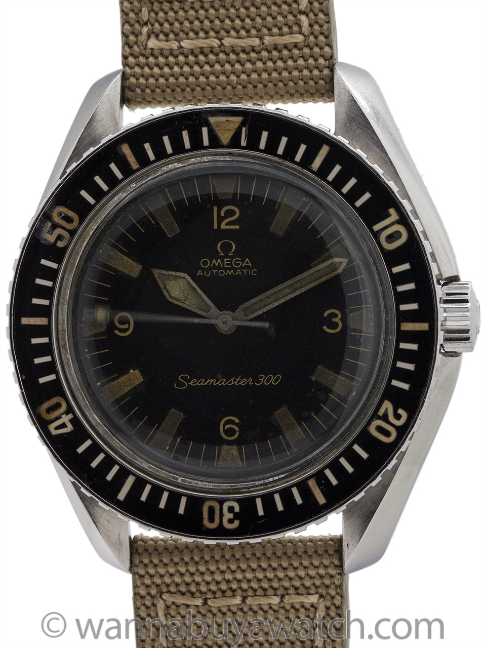 Omega Seamaster 300 ref 166.024 Stainless Steel circa 1966