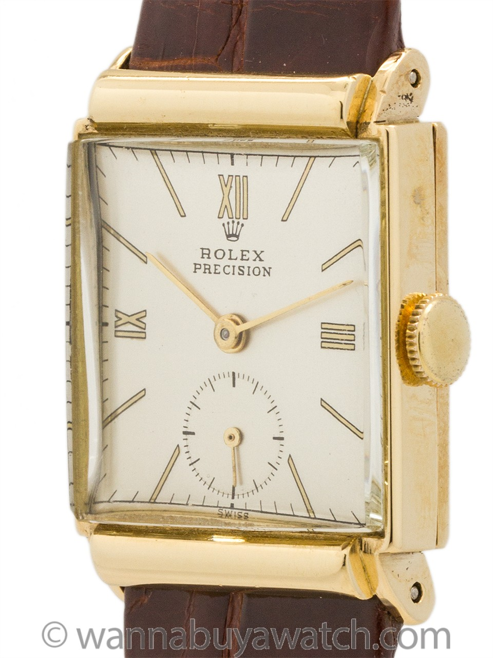 Rolex 18K Dress Model ref 4278 circa 1950's