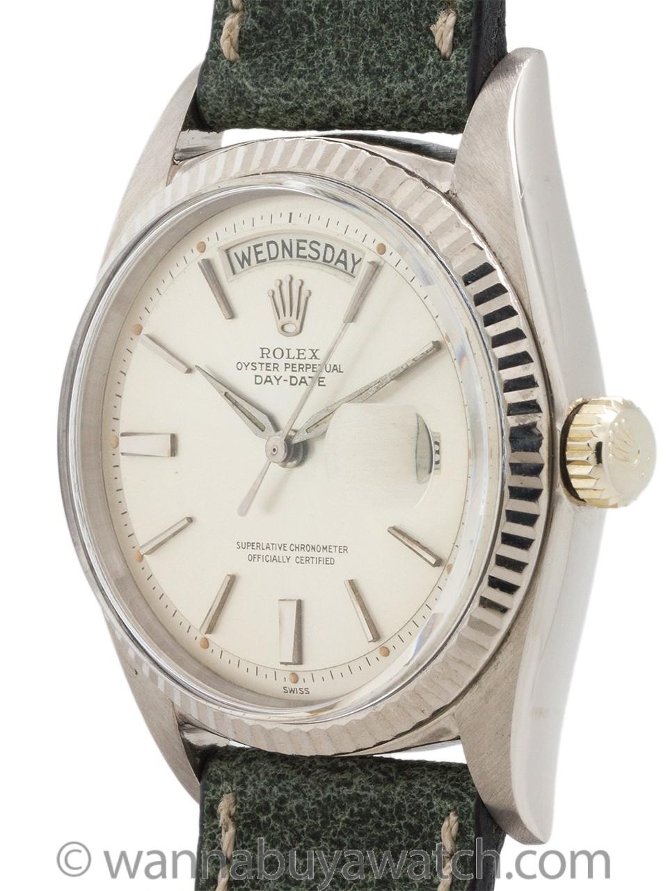 Rolex Day Date President ref 1803 18K WG circa 1963
