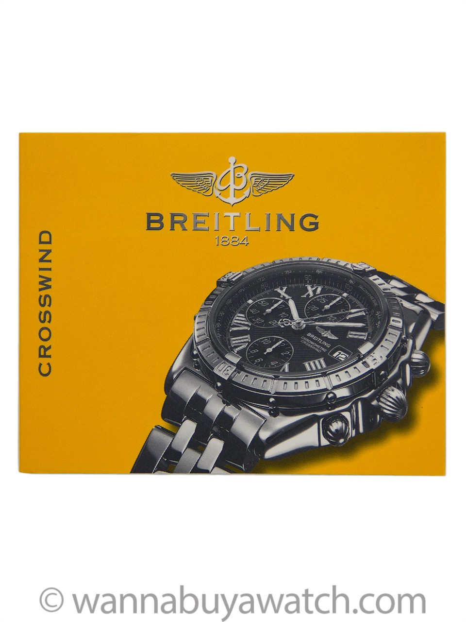 Breitling Crosswind ref# D13355 SS/18K circa 2003 B & P
