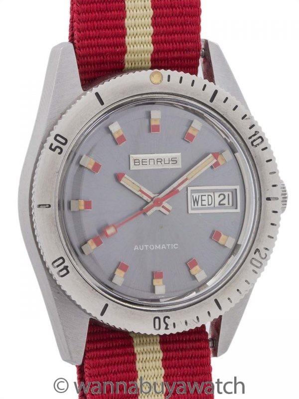 Benrus Automatic Diver's circa 1960's Pristine!