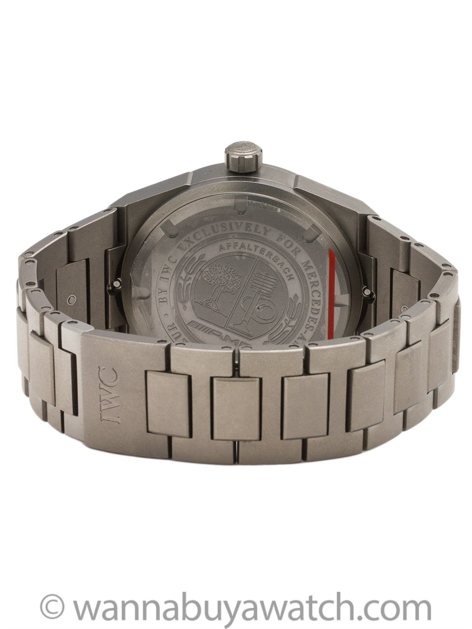 IWC Titanium Ingenieur for Mercedes - AMG Reference IW3227-02