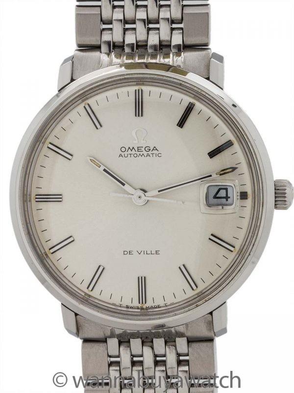 Omega De Ville Automatic Date ref 166.033 circa 1969