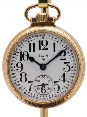 Elgin BW Raymond Railroad Pocketwatch circa 1925