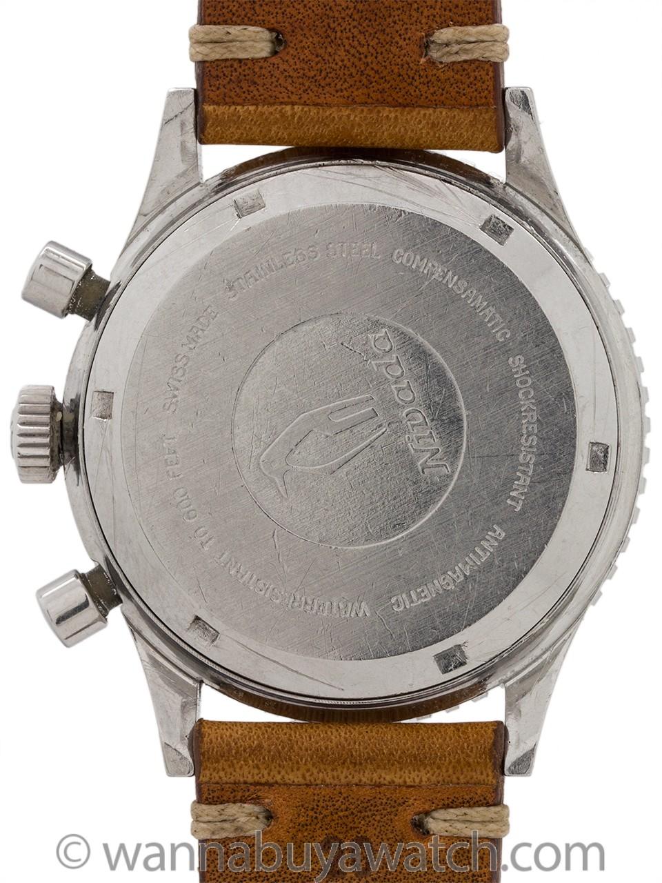 Nivada Grenchen Aviator Chronograph circa 1960's