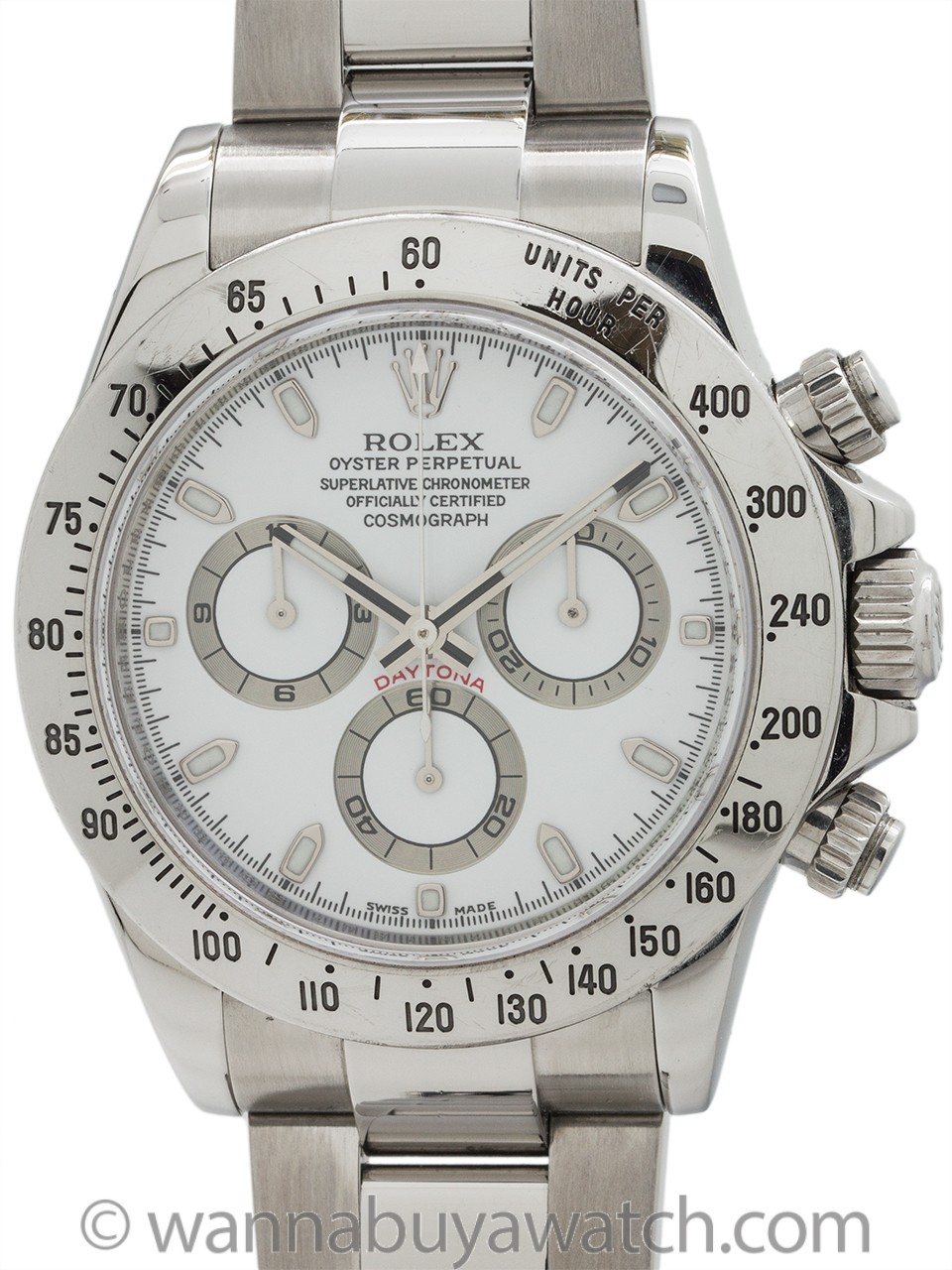 Rolex Daytona ref# 116520 Stainless Steel circa 2014 Full Set