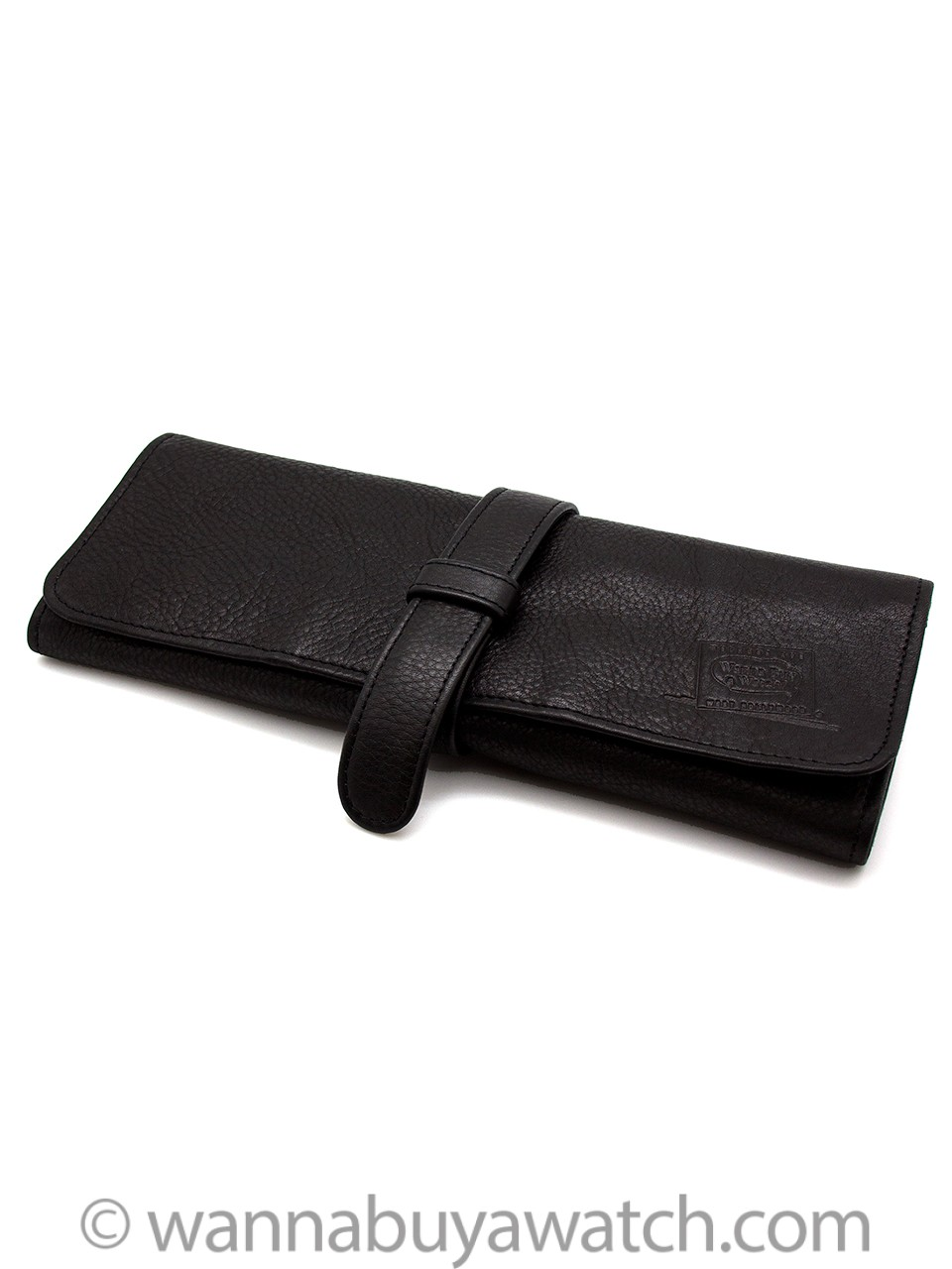 Fine Italian Leather Watch Roll, New Arrival! Redesigned