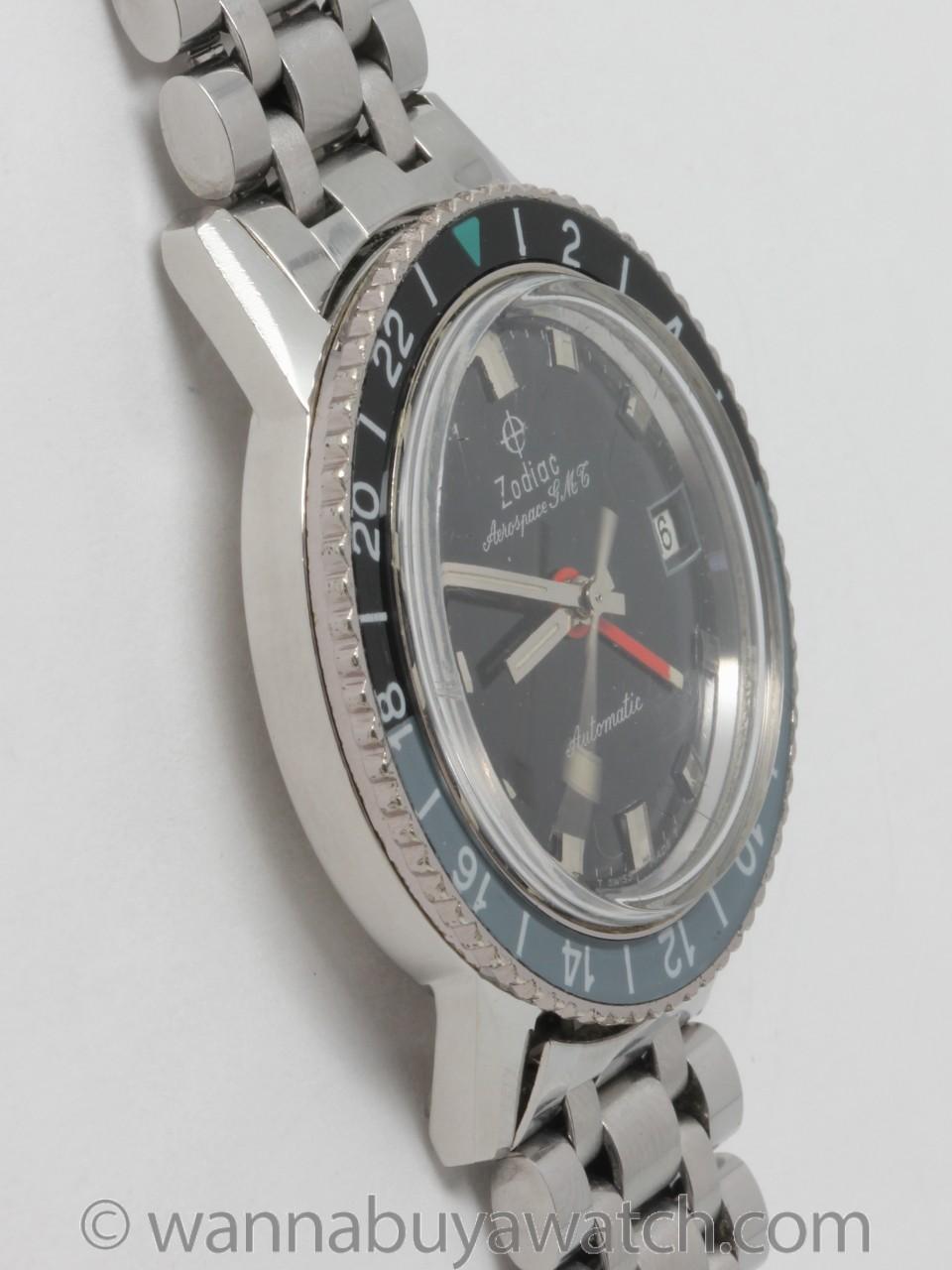 Zodiac SS Aerospace GMT Automatic circa 1960's