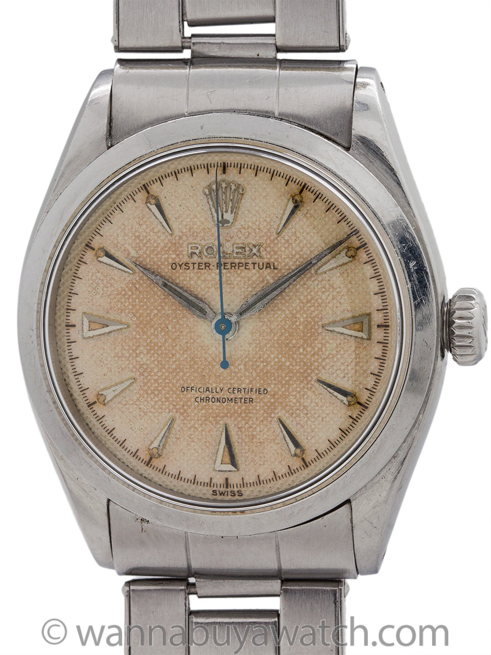 Rolex Oyster Perpetual ref 6284 Waffle Dial circa 1953