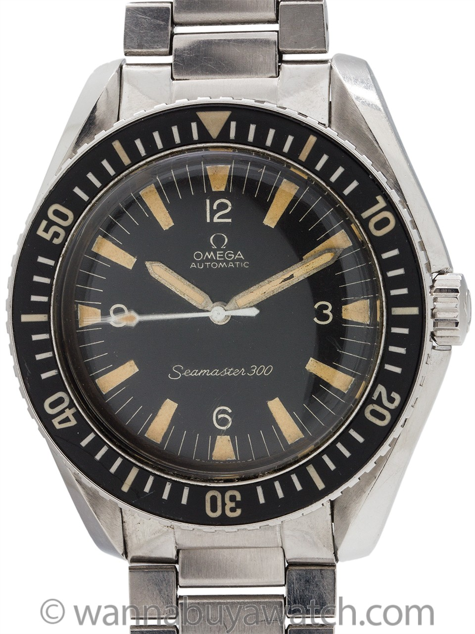 Omega Seamaster 300 ref 165.024 circa 1966 Exceptional!