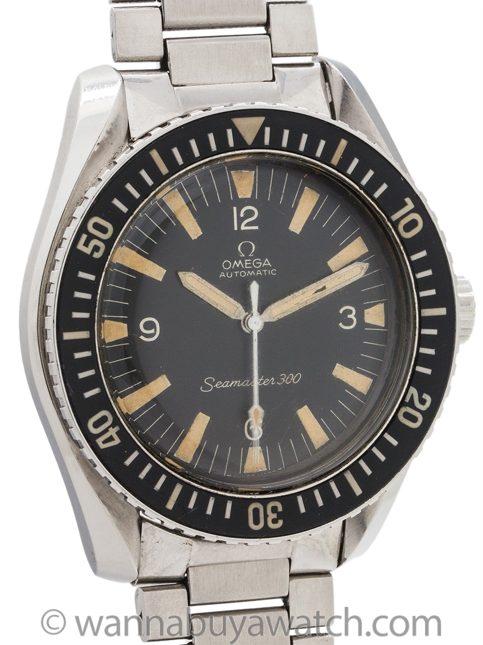 Omega Seamaster 300 ref 165.024 circa 1966 Exceptional!