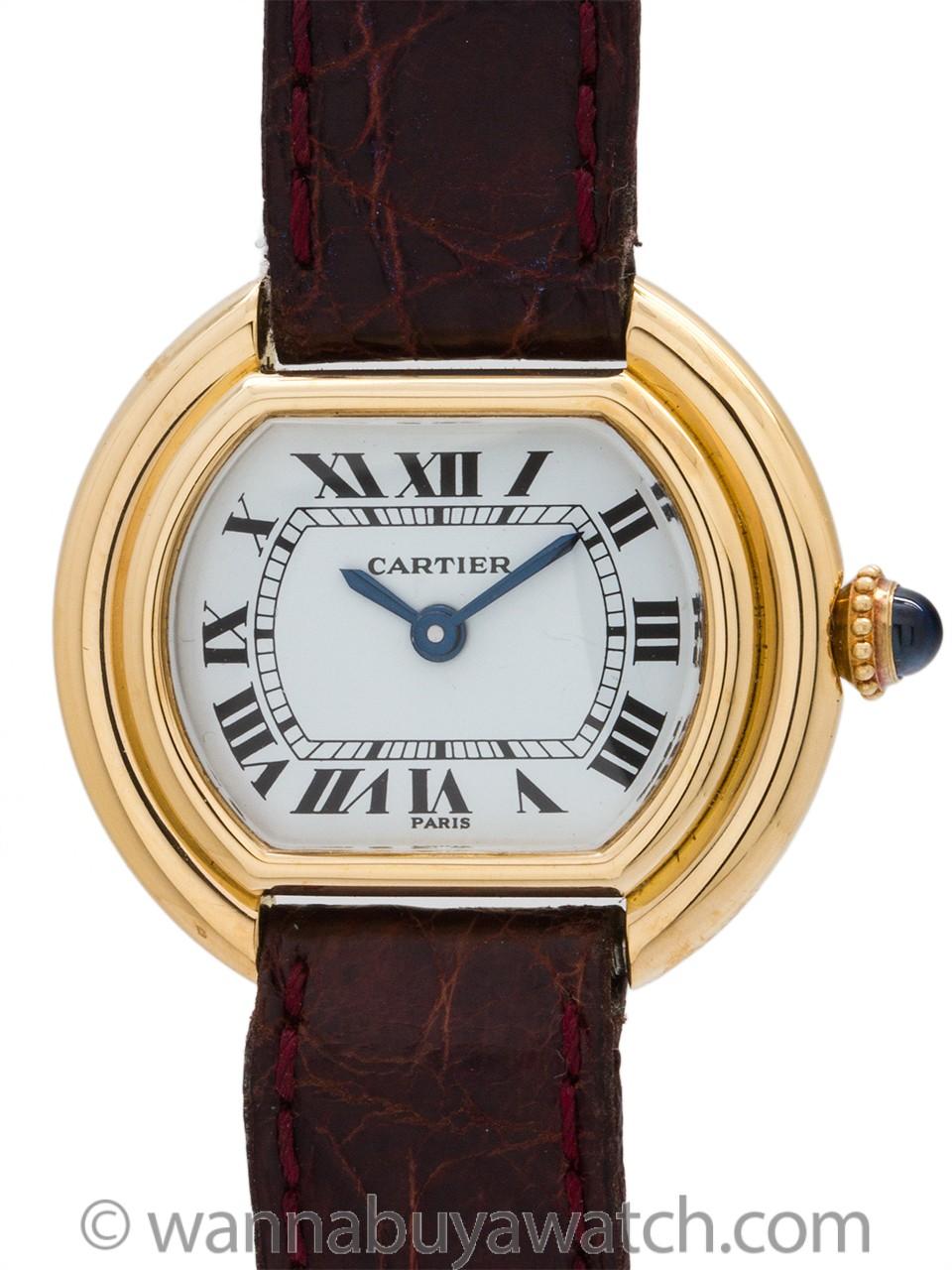 Cartier Lady 18K YG Vendome circa 1970's