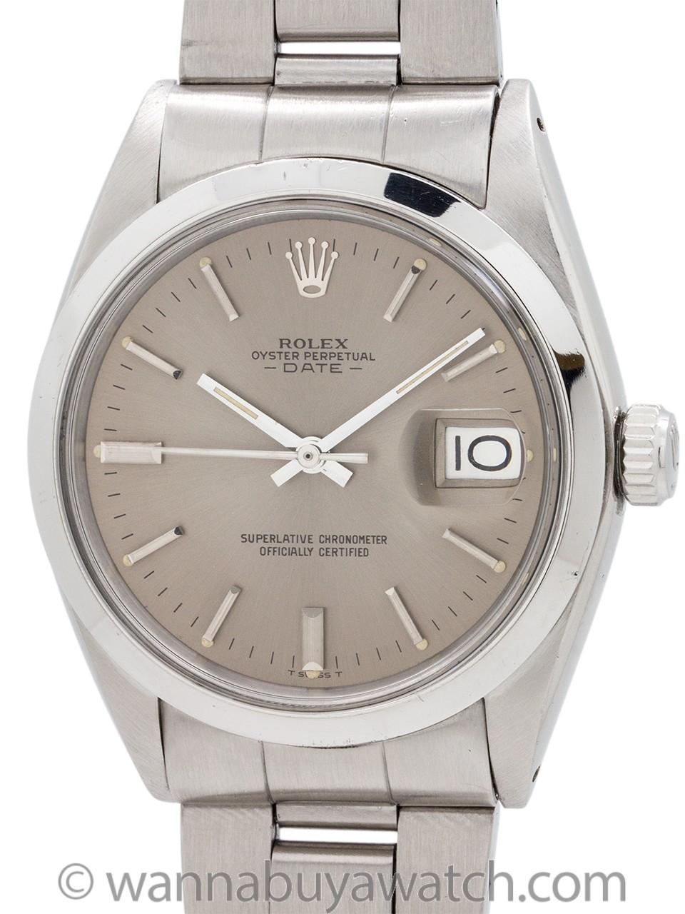 Rolex ref 1500 Oyster Perpetual Date circa 1970
