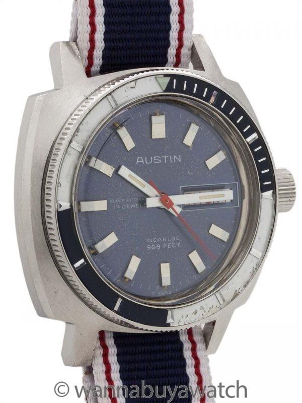 Austin Diver Day-Date Automatic Circa 1960's