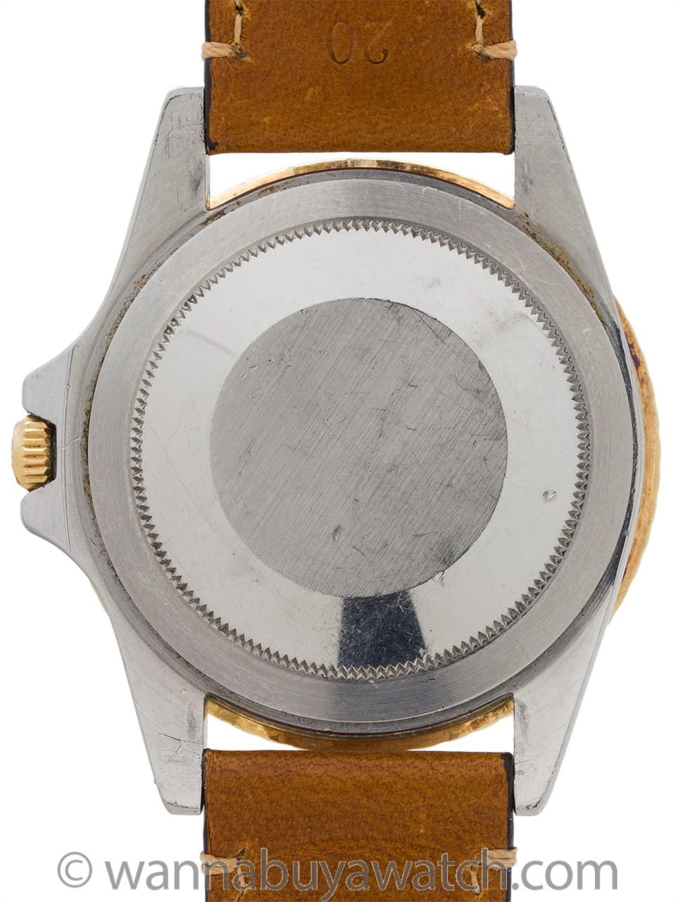 Rolex 2 Tone GMT ref 1675 circa 1979