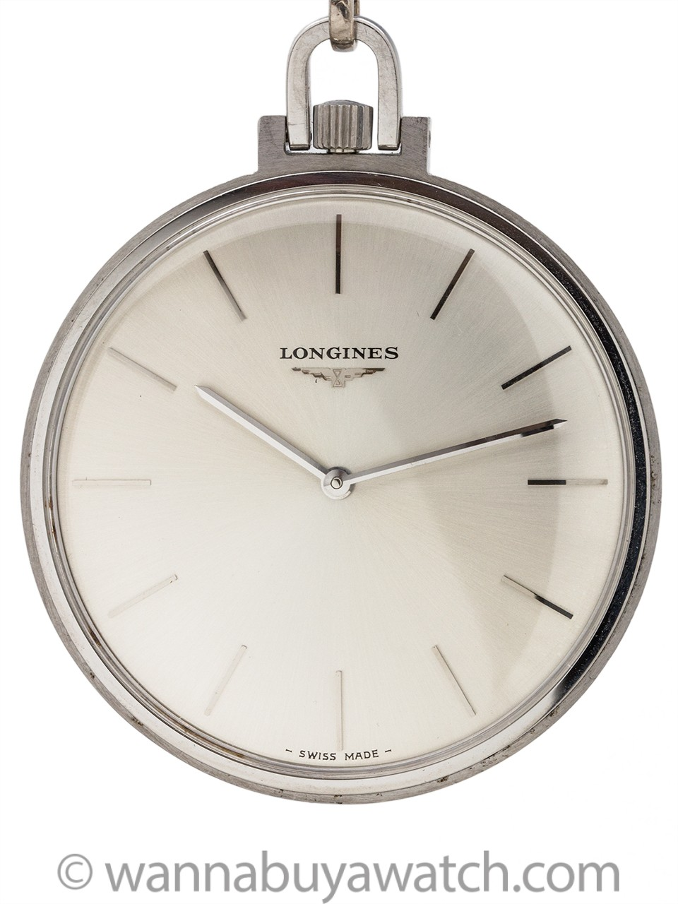 Longines Dress Pocket Watch circa 1960's