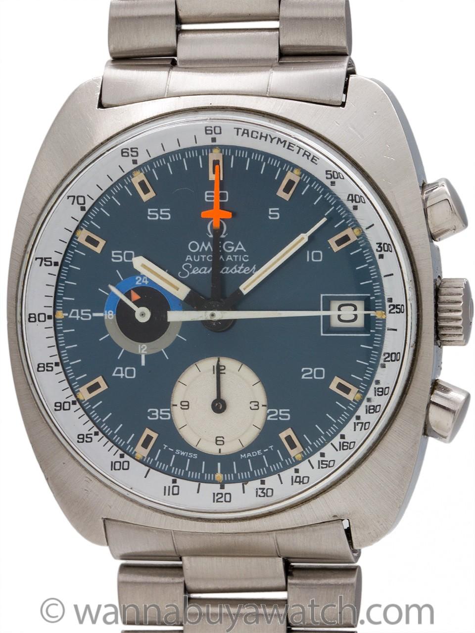 Omega Seamaster Chronograph Automatic ref 176.001 circa 1969
