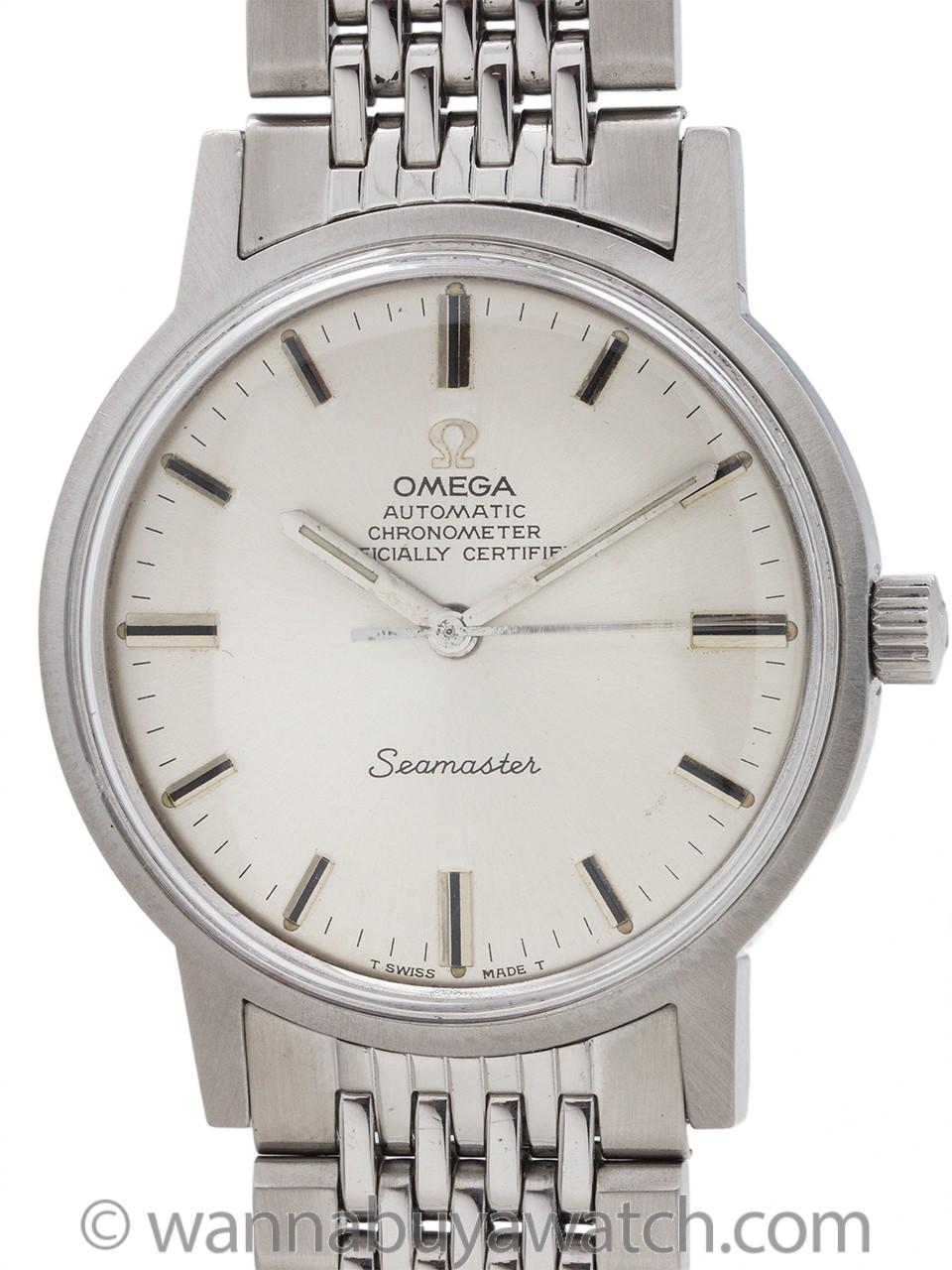 Omega Chronometer Certified Seamaster ref 165.010 circa 1968