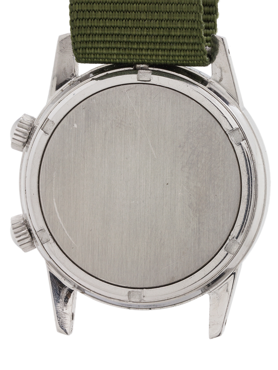 Tudor Advisor Alarm ref #10050 Stainless Steel circa 1982