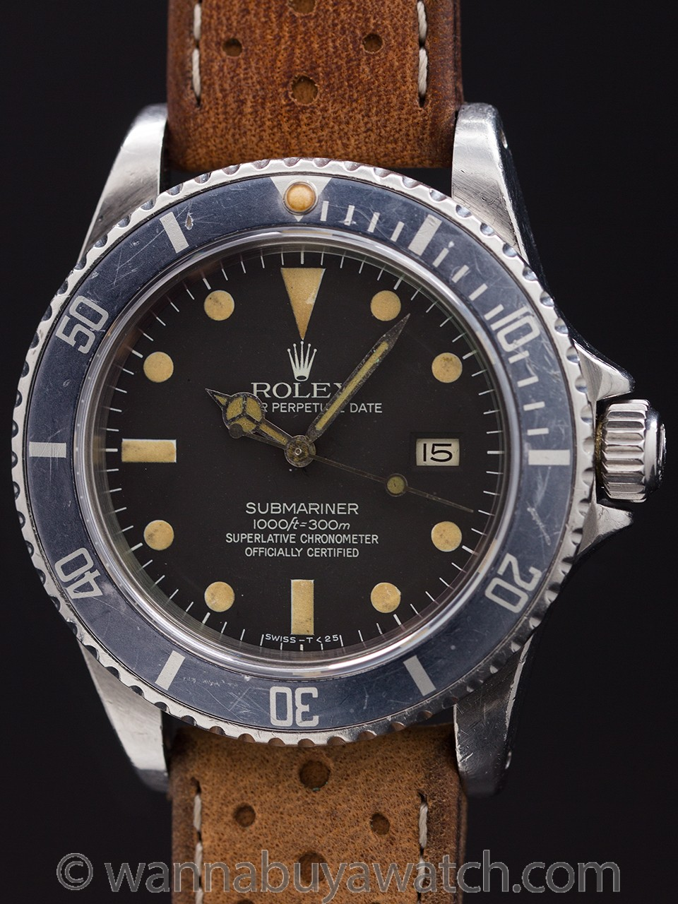 Rolex Submariner ref 16800 Transitional MK III Dial circa 1981