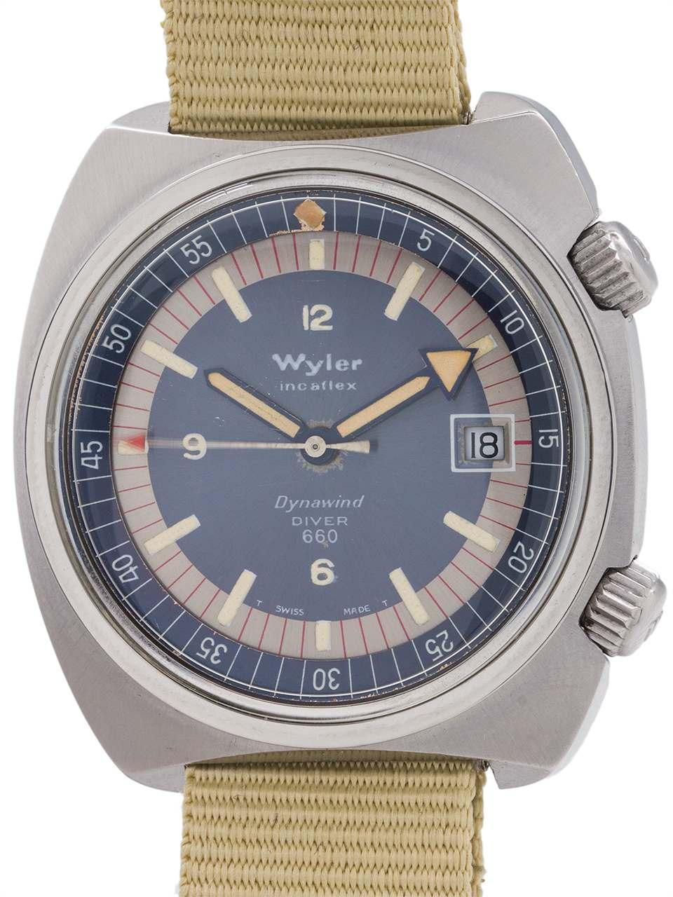 "Wyler Diver 660 ""Dynawind"" circa 1960's"