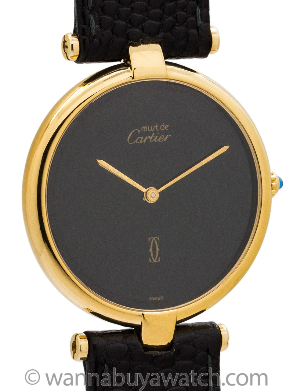 Man's Cartier Vendome Tank Vermeil circa 1990's (copy)