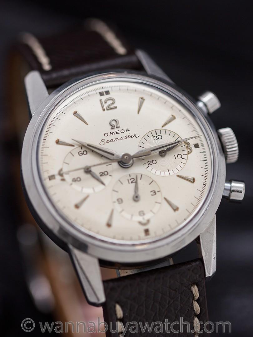 Omega Seamaster Chronograph ref 143.646 calibre 321 circa 1959
