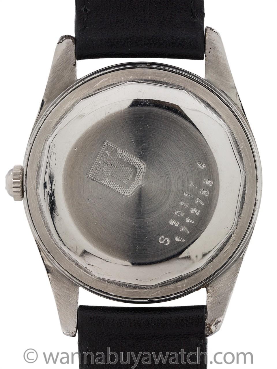 Universal Geneve Polerouter Black Dial circa 1955