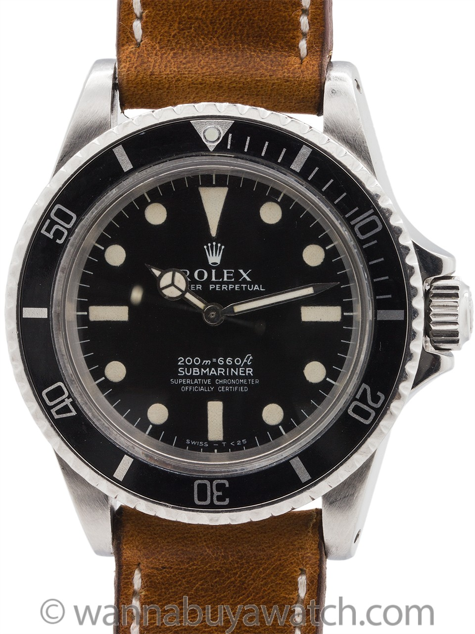 Rolex Submariner ref 5512 Meters First circa 1969